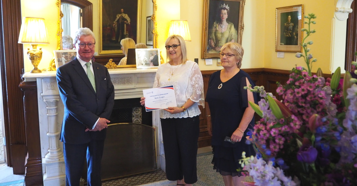 Legacy Torch Society honoured by Queensland Governor